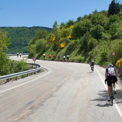 Guided cycling tour in Spain