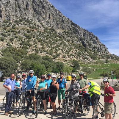 Guided bicycle tour in Andalusia