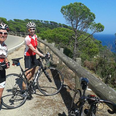 Cycling tour Barcelona – Rome