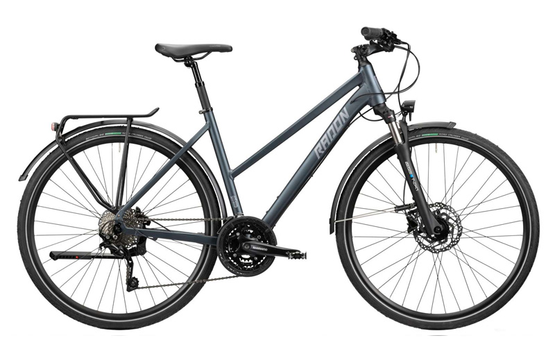 Bike Rental in Malaga – Hybrid Bike with open frame