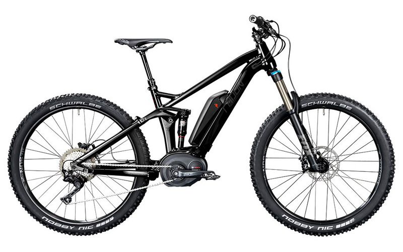 MTB rental in Malaga Costa del Sol – Full suspension electric MTB
