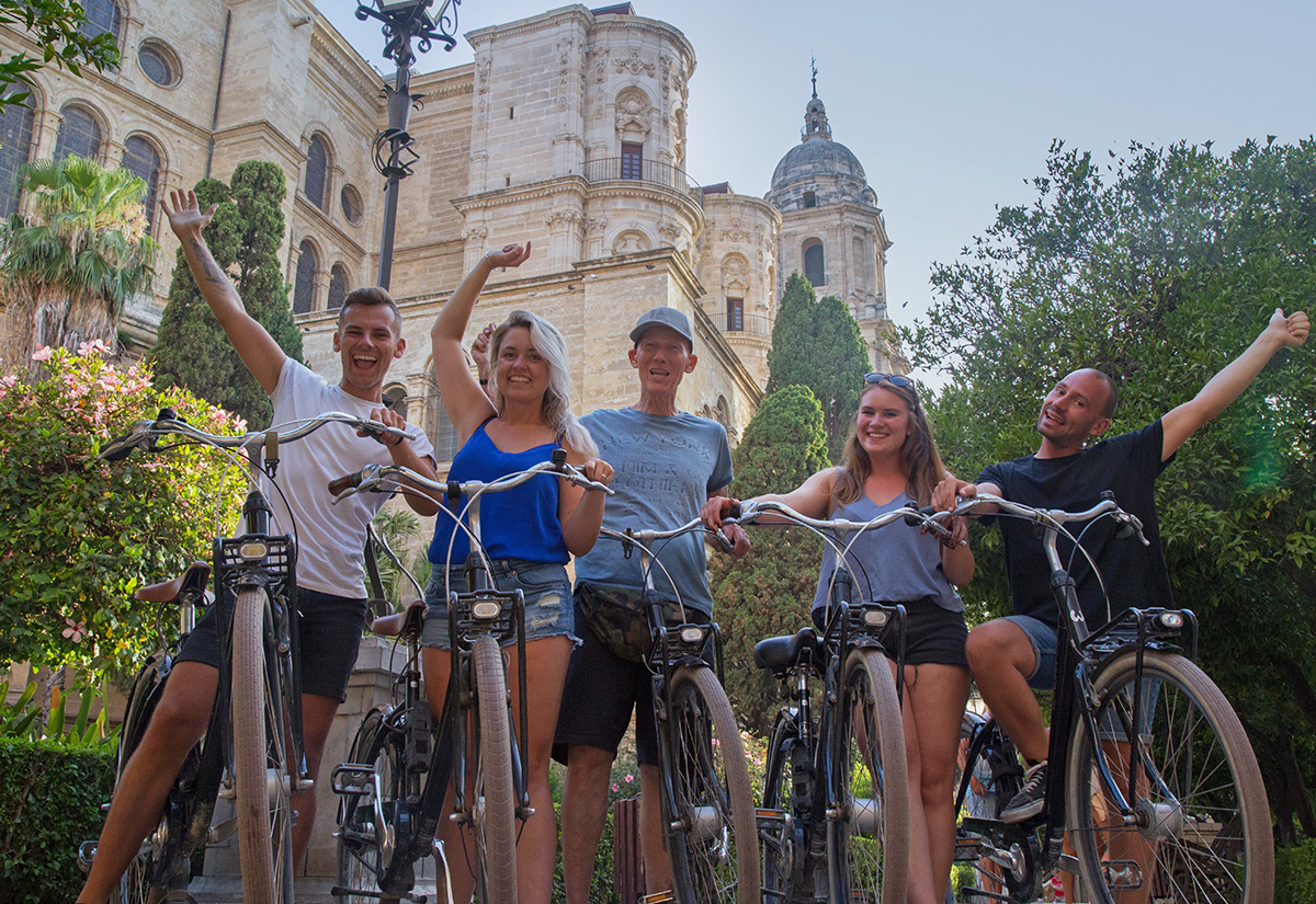 Guided Bike Tours in Malaga – Sightseeing city tour Malaga