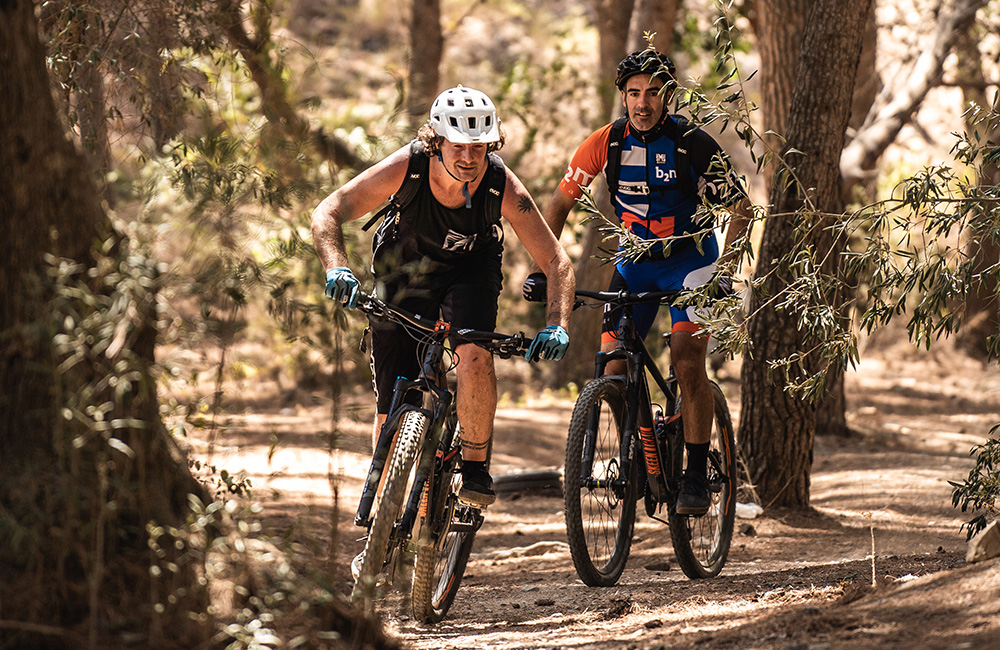 MTB guided tours in Malaga and Costa del Sol