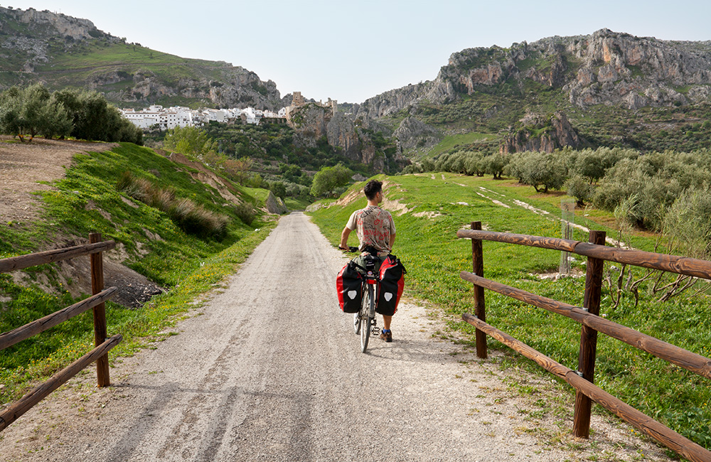 Cycle route planner – Cycle loops trough Andalusia