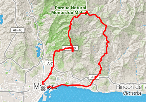 Road cycling routes in Malaga – RB-04
