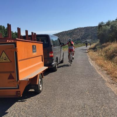 Cycling tours and road assistance in Andalusia