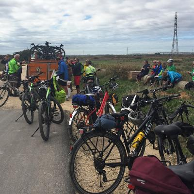 Car assistance and guided bike tour in Andalusia