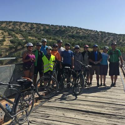 Guided bike tour in Andalusia